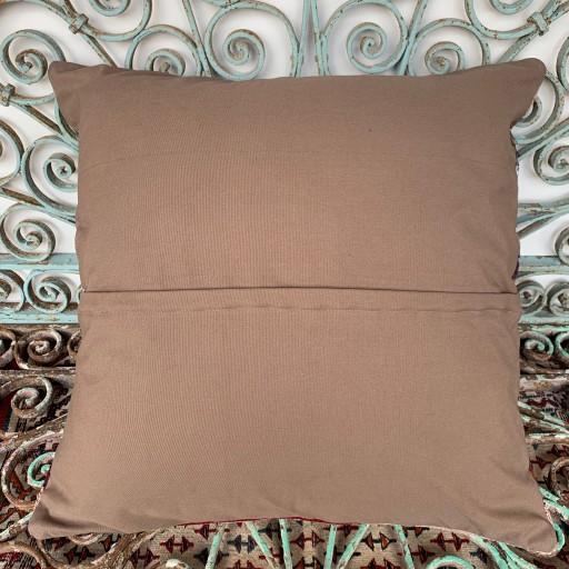 Vintage Kilim Floor Cushion-Klm140