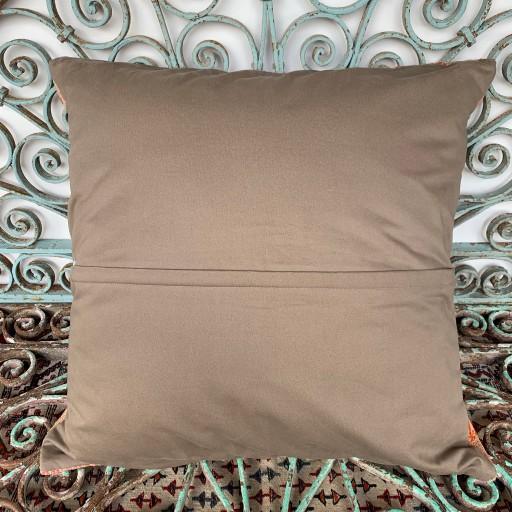 Vintage Kilim Floor Cushion-Klm142