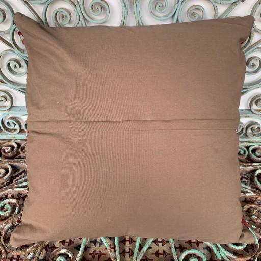 Vintage Kilim Floor Cushion-Klm143