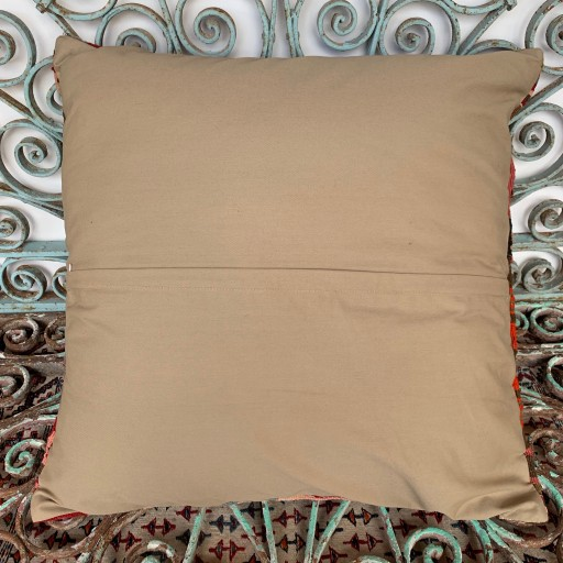 Vintage Kilim Floor Cushion-Klm148